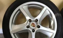 Porsche Cayenne Turbo OEM Rims 20'