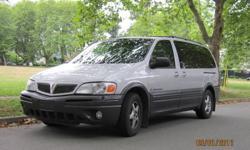 REDUCED 2003 Pontiac Montana SV Minivan - LOW MILEAGE - 3 OWNERS