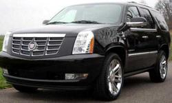 US 2010 Cadillac Escalade Black on Black Heated Leather,
