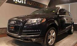 US 2011 Audi Q7 3.0 Premium Plus, black on blk