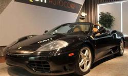 US 2003 Ferrari 360 Spider F1 6 Speed Paddles Shift, 400H