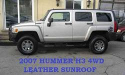 USD  2007 Hummer H3 4WD LEATHER SUNROOF