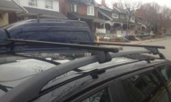 Volvo V50 Roof Rack Crossbar with one Bike Carrier