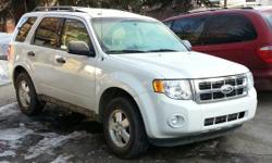 White 2011 Ford Escape for Sale