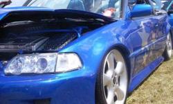 WiCkEd!! Honda Civic Show Car.. Everything custom AirRide B16a