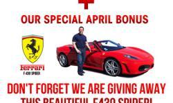 Win A Ferrari - One Click